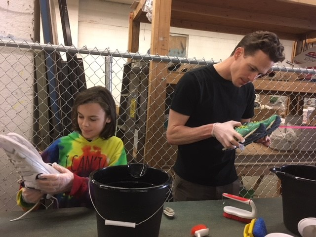 Volunteering in Seattle on MLK Day at Redeeming Soles, an anti-homelessness nonprofit